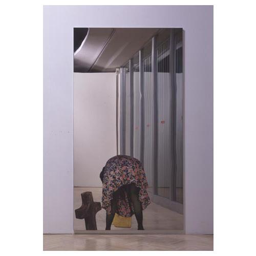 Michelangelo pistoletto - Serigrafia su specchio ...